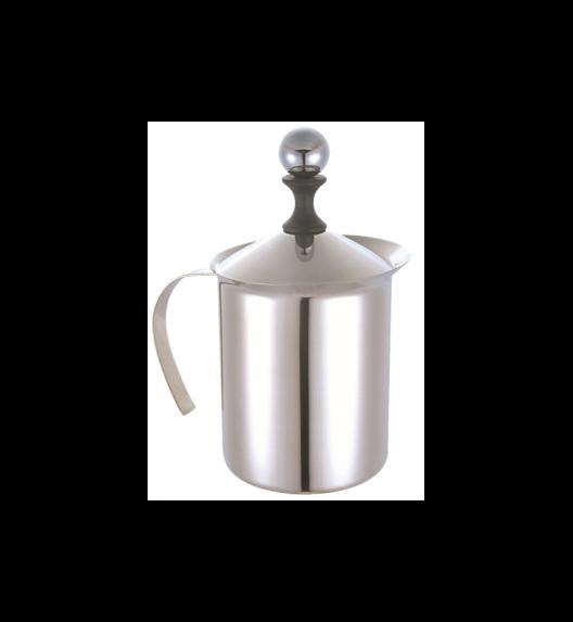 TADAR Stalowy spieniacz do mleka KULKA / 400 ml