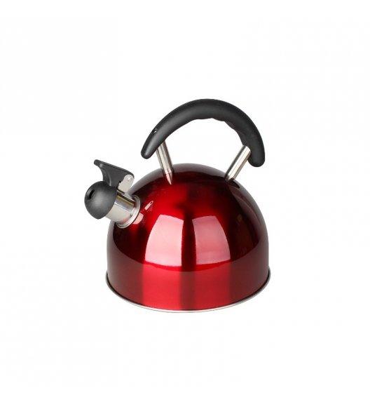 TADAR Czajnik nierdzewny 2,0 L KOGUT czerwony, indukcja