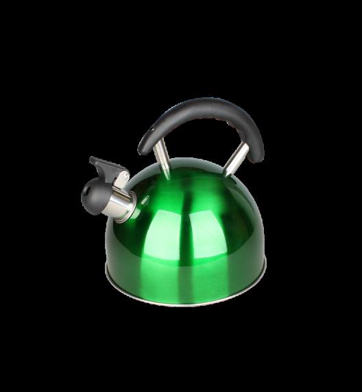 TADAR Czajnik nierdzewny 2,0 L KOGUT zielony, indukcja