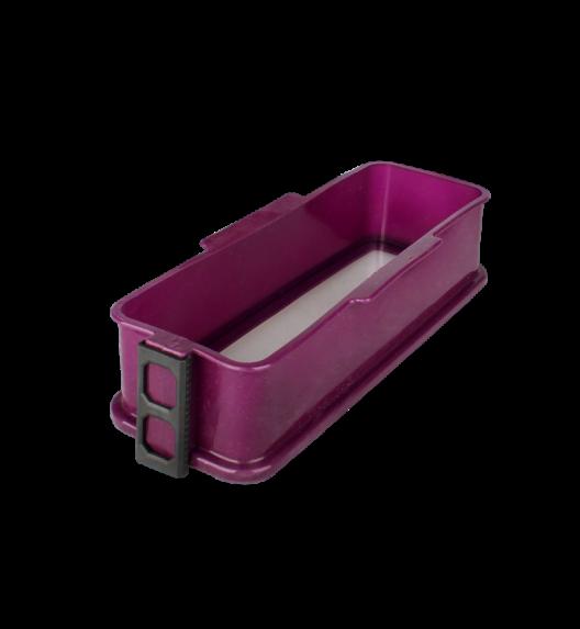 TADAR Silikonowa forma ze szklanym dnem CAKE 30 cm, fioletowa
