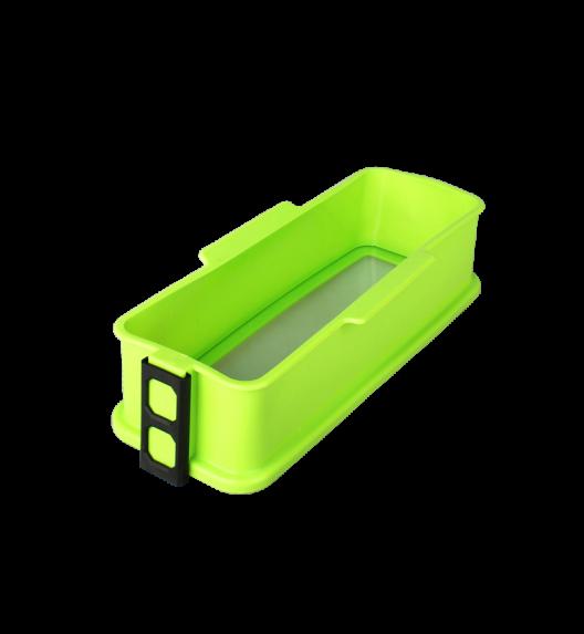 TADAR Silikonowa forma ze szklanym dnem CAKE 30 cm, zielona