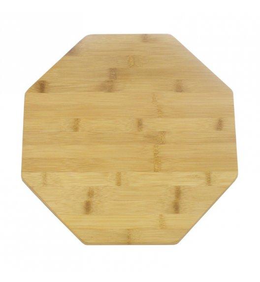 TADAR Deska bambusowa obrotowa, ośmiokątna 35 cm