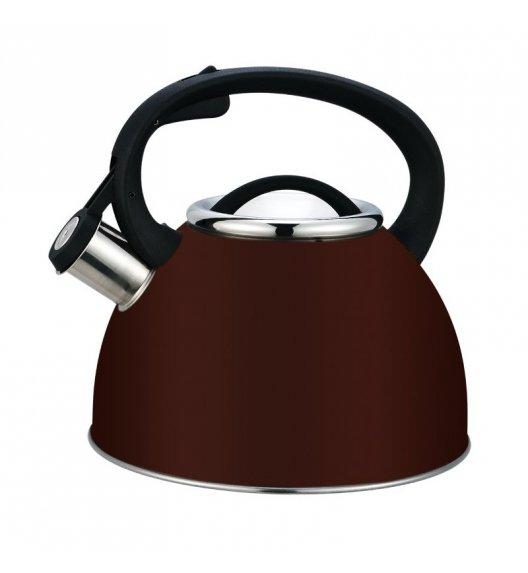 TADAR Czajnik nierdzewny lakierowany 2,5 L CASTANO indukcja, brązowy