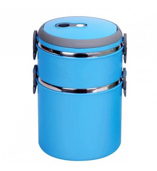TADAR Pojemnik obiadowy 2-warstwowy Pasto 2,7 L niebieski