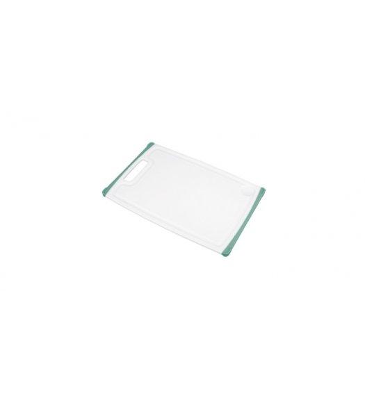WYPRZEDAŻ! TESCOMA COSMO Deska do krojenia biało-zielona, 26 x 16 cm