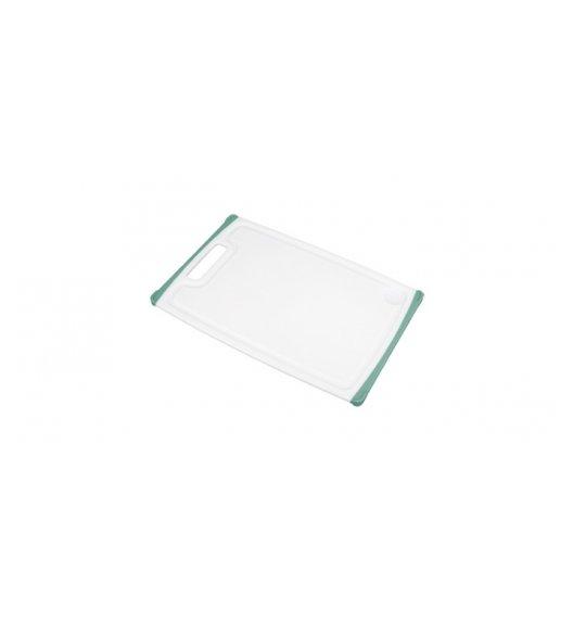 WYPRZEDAŻ! TESCOMA COSMO Deska do krojenia biało-zielona, 30 x 20 cm