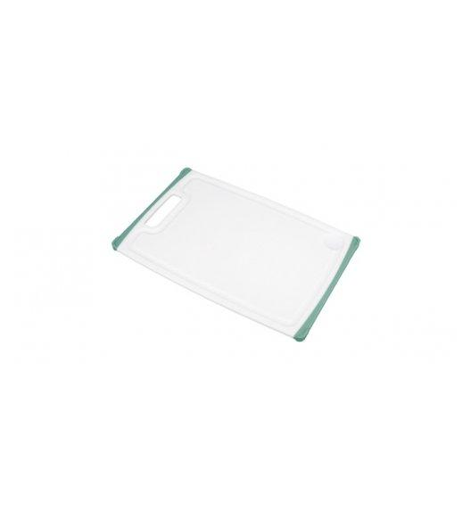 WYPRZEDAŻ! TESCOMA COSMO Deska do krojenia biało-zielona, 36 x 24 cm