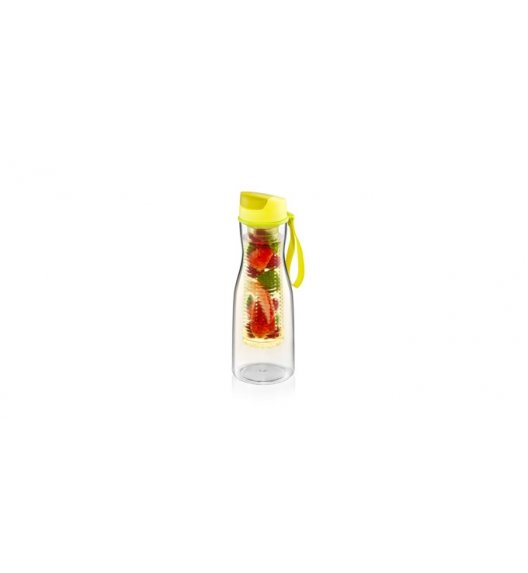 TESCOMA PURITY Butelka na napoje z sitkiem 700 ml / żółta VIDEO