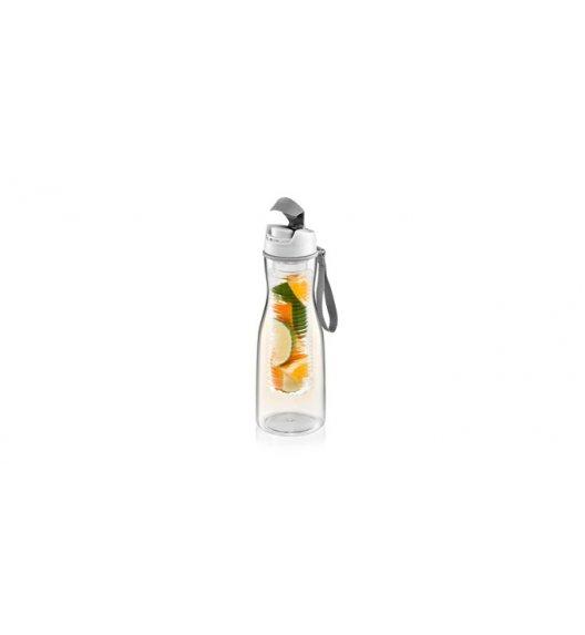 TESCOMA PURITY Butelka na napoje z sitkiem 700 ml / szara VIDEO