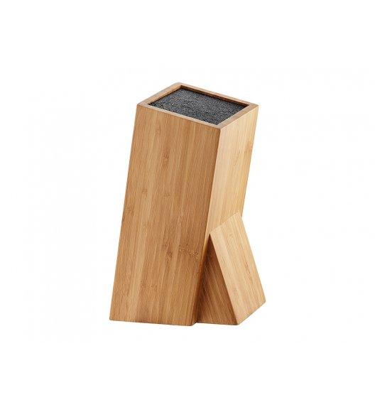 AMBITION LORD Bambusowy blok na noże uniwersalny  10x10x26 cm  80324