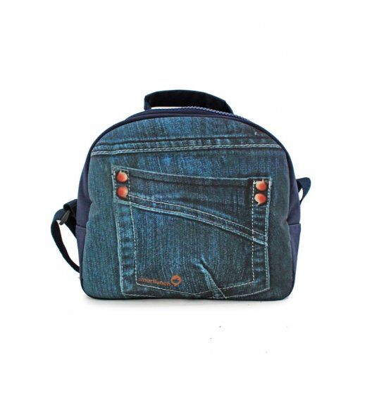 SMART LUNCH Smart Teen Torba na lunch Denim / motyw jeansu / btrzy
