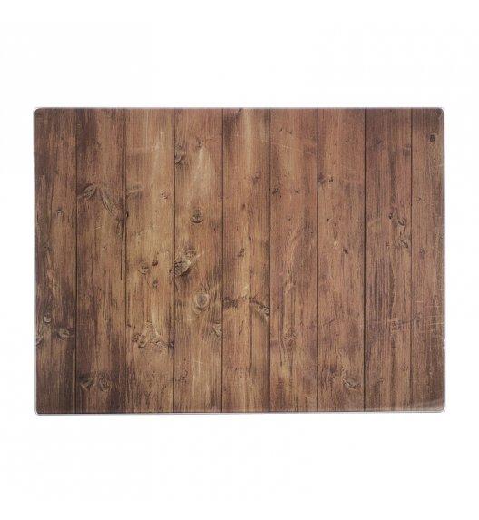 TYPHOON Szklana deska do krojenia i serwowania jedzenia, drewno / Btrzy