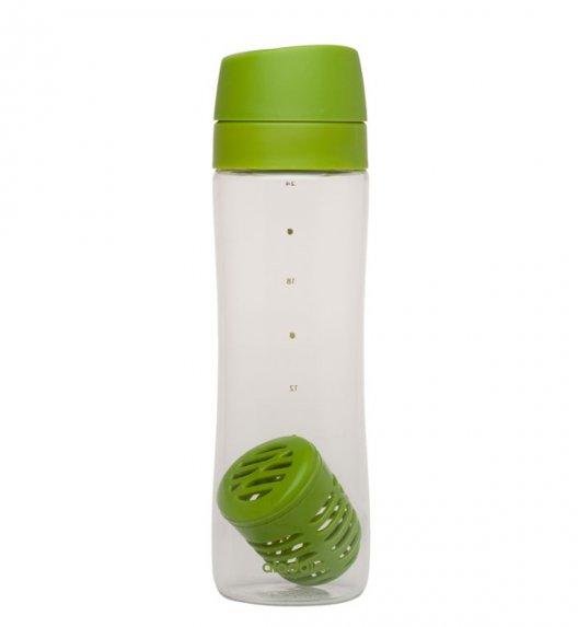 ALADDIN Butelka na wodę z koszyczkiem na owoce AVEO 0,7 l zielona / FreeForm