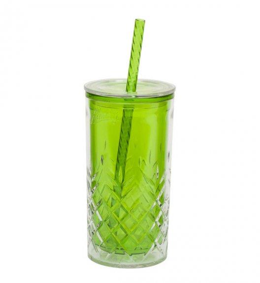 ALADDIN Kubek ze słomką do zimnych napojów CLASSIC 0,47 l zielony / FreeForm