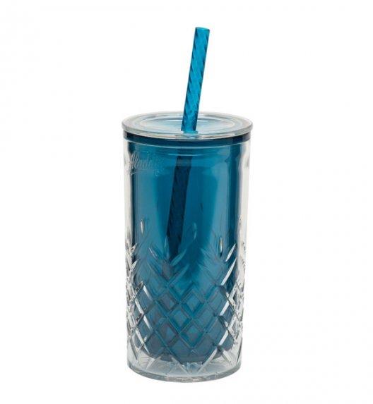 ALADDIN Kubek ze słomką do zimnych napojów CLASSIC 0,47 l morski / FreeForm