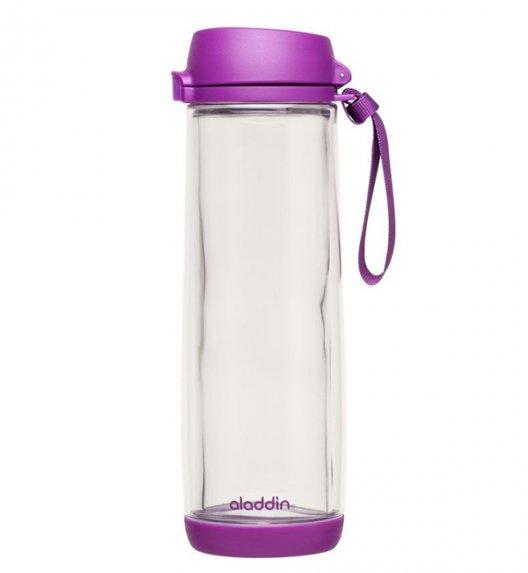 ALADDIN Szklana butelka na napoje GLASS LINED 0,53 l fioletowa / FreeForm