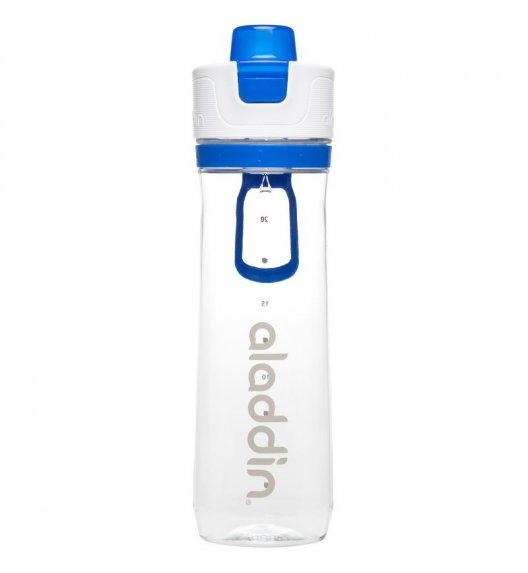 ALADDIN Butelka ze wskaźnikiem spożycia wody ACTIVE HYDRATION 0,8 l niebieska / FreeForm