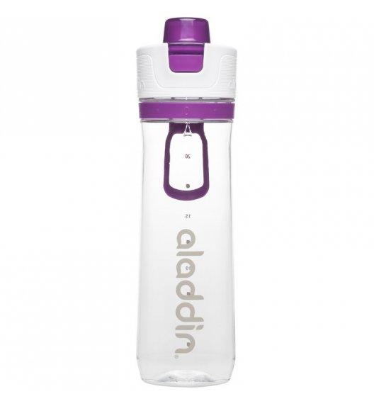 ALADDIN Butelka ze wskaźnikiem spożycia wody ACTIVE HYDRATION 0,8 l fioletowa / FreeForm