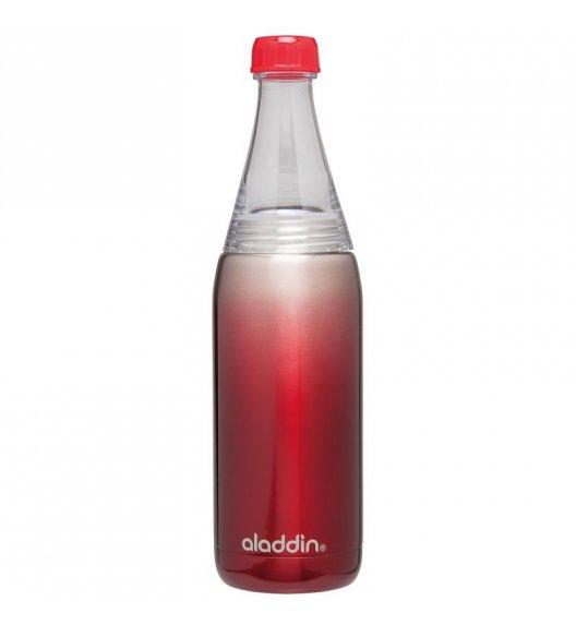ALADDIN Butelka próżniowa stalowa na napoje FRESCO TWIST & GO 0,6 l czerwona / FreeForm