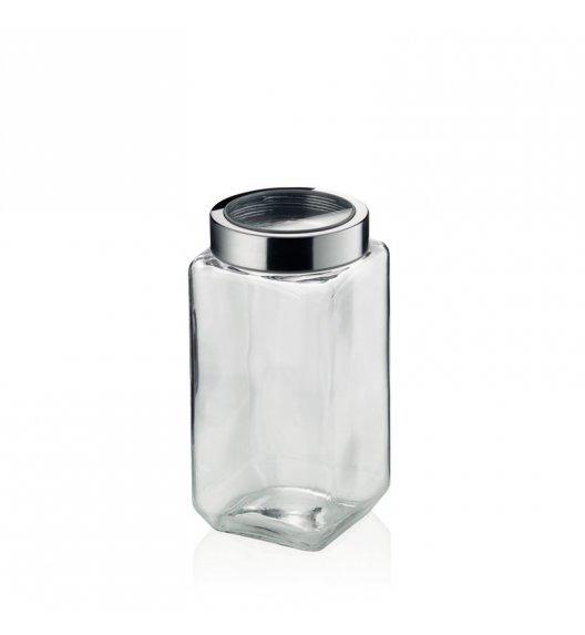 KELA Pojemnik szklany SIRO 2,0 l szary / FreeForm