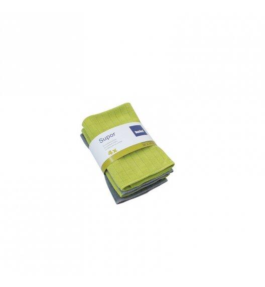 KELA Zestaw 4 ściereczek z mikrofibry SUPOR 35 x 35 cm / FreeForm