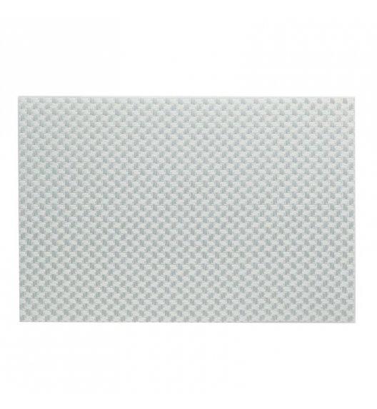 KELA Podkładka na stół PLATO 45 x 30 cm biała / FreeForm