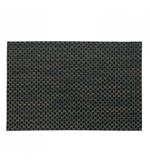 KELA Podkładka na stół PLATO 45 x 30 cm brązowo-czarna / FreeForm