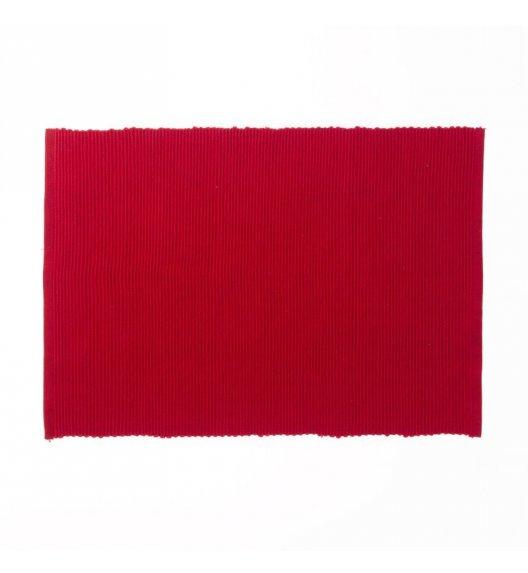 KELA Bawełniana podkładka na stół PUR 48 x 33 cm, czerwona / FreeForm