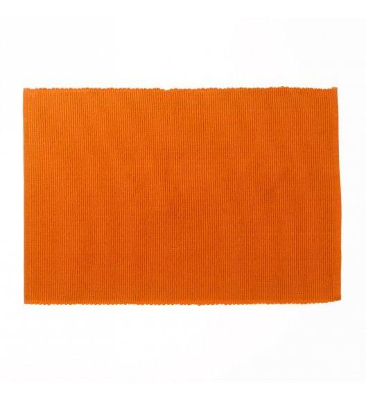 KELA Bawełniana podkładka na stół PUR 48 x 33 cm, pomarańczowa / FreeForm