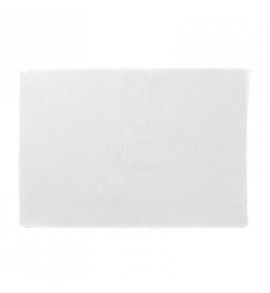 KELA Bawełniana podkładka na stół PUR 48 x 33 cm, biała / FreeForm