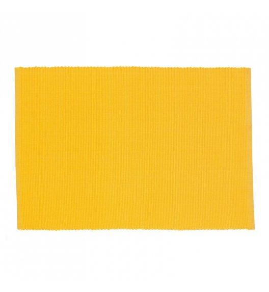 KELA Bawełniana podkładka na stół PUR 48 x 33 cm, żółta / FreeForm