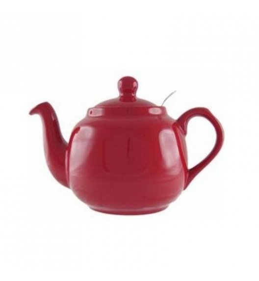 LONDON POTTERY Dzbanek do herbaty z filtrem FARMHOUSE FILTER 0,6 l czerwony / FreeForm