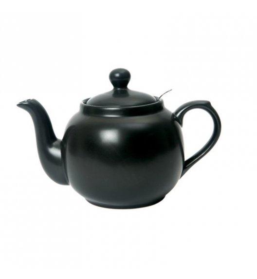 LONDON POTTERY Dzbanek do herbaty z filtrem FARMHOUSE FILTER 0,6 l czarny / FreeForm