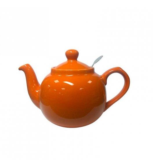 LONDON POTTERY Dzbanek do herbaty z filtrem FARMHOUSE FILTER 0,6 l pomarańczowy / FreeForm