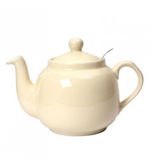 LONDON POTTERY Dzbanek do herbaty z filtrem FARMHOUSE FILTER 1,2 l kremowy / FreeForm