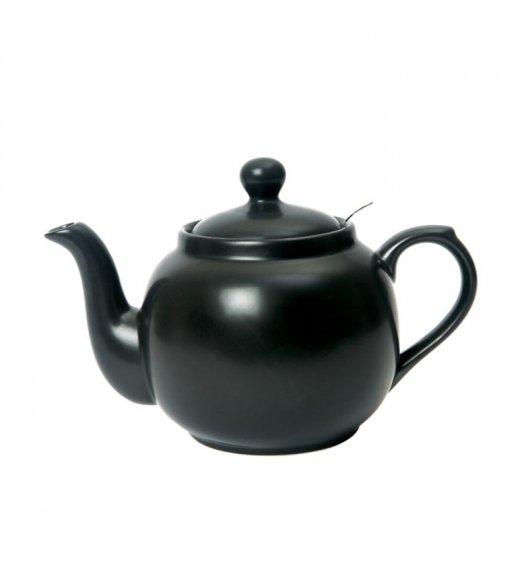 LONDON POTTERY Dzbanek do herbaty z filtrem FARMHOUSE FILTER 1,2 l czarny / FreeForm