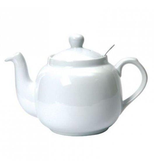 LONDON POTTERY Dzbanek do herbaty z filtrem FARMHOUSE FILTER 1,8 l biały / FreeForm
