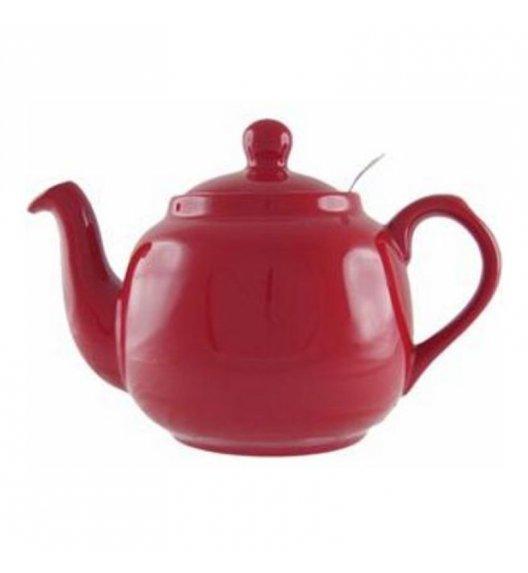 LONDON POTTERY Dzbanek do herbaty z filtrem FARMHOUSE FILTER 1,8 l czerwony / FreeForm