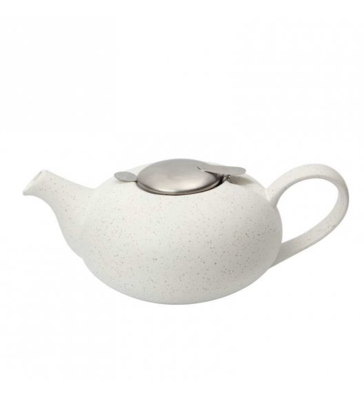 LONDON POTTERY Dzbanek do herbaty z filtrem PEEBLE 1,1 l biały / FreeForm