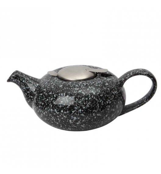 LONDON POTTERY Dzbanek do herbaty z filtrem PEEBLE 1,1 l czarny / FreeForm