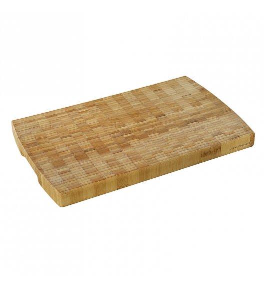 ZASSENHAUS Deska do krojenia typu end grain z drewna bambusowego 40 × 25 cm / FreeForm