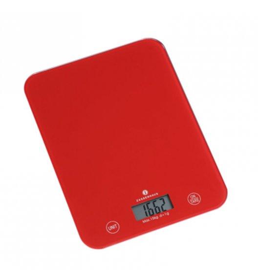 ZASSENHAUS Cyfrowa waga kuchenna BALANCE XL czerwona / FreeForm