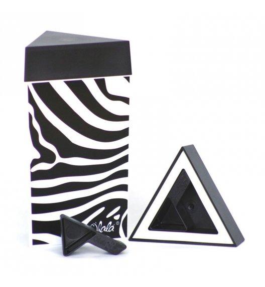 O'LaLa Przeźroczysty pojemnik trójkątny z miarką do przechowywania żywności / 0,3 L / zebra / FreeForm