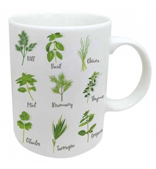 WYPRZEDAŻ! TADAR Herbal&Spices Kubek 310 ml / porcelana