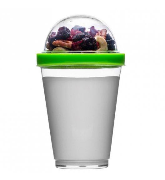 SAGAFORM Kubek na jogurt i dodatki FRESH 0,3 l / zielony / FreeForm