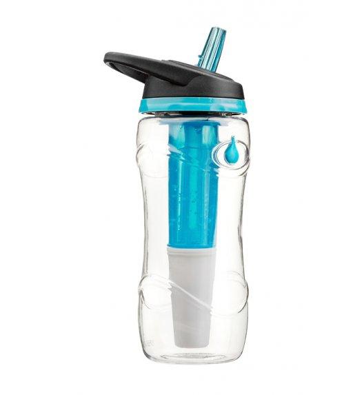 WYPRZEDAŻ! Cool Gear Butelka PURE 710 ml z żelowym wkładem i filtrem w kolorze niebieskim/ Btrzy