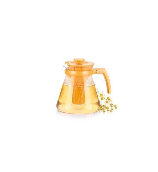 Czajnik/dzbanek Tescoma Teo Tone z wyjmowanymi sitkami w kolorze żółtym 1,25 l ZOBACZ FILM