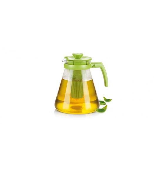 Czajnik/dzbanek Tescoma Teo Tone z wyjmowanymi sitkami w kolorze zielonym 1,7 l ZOBACZ FILM