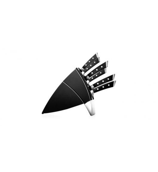 Noże kuchenne w bloku Tescoma Azza 7 elementów. Zobacz film.