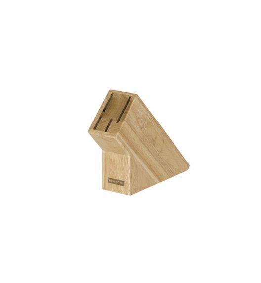 Drewniany blok na 4 noże Tescoma Woody.